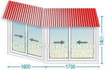 Остекление балконов с крышей цены