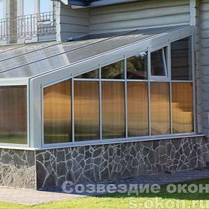 Окна для зимних садов
