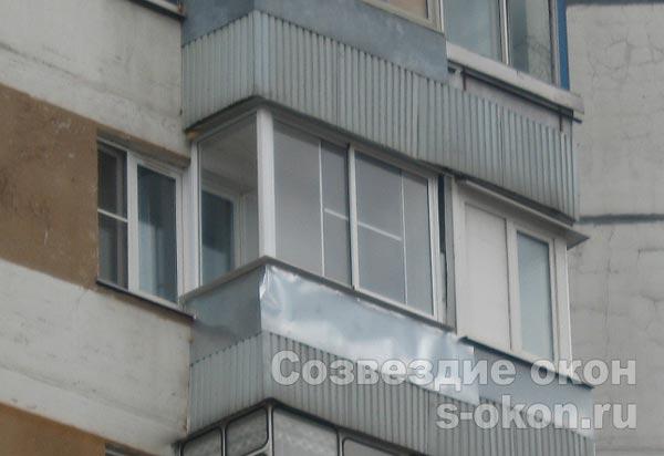 остекление балконов п 3 пример