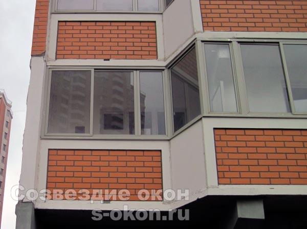 Окна на балкон п44т