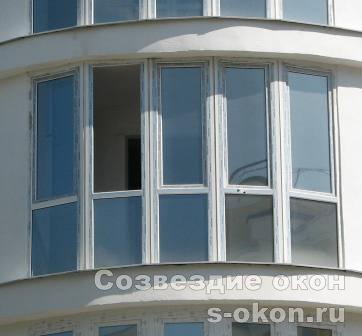 Остекление панорамное балкона