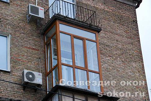 Остекления балконов панорамные