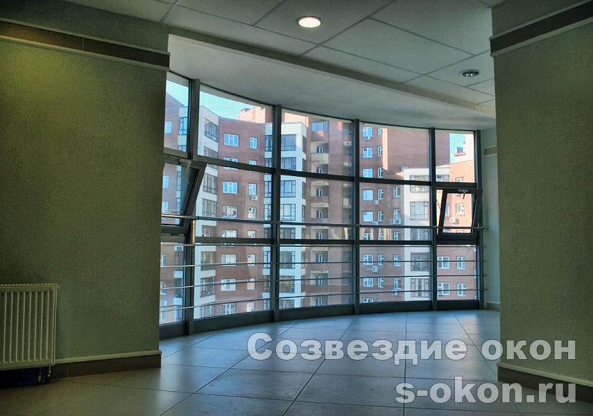 Остекление квартиры панорамное