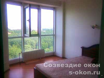 Остекление панорамное квартиры