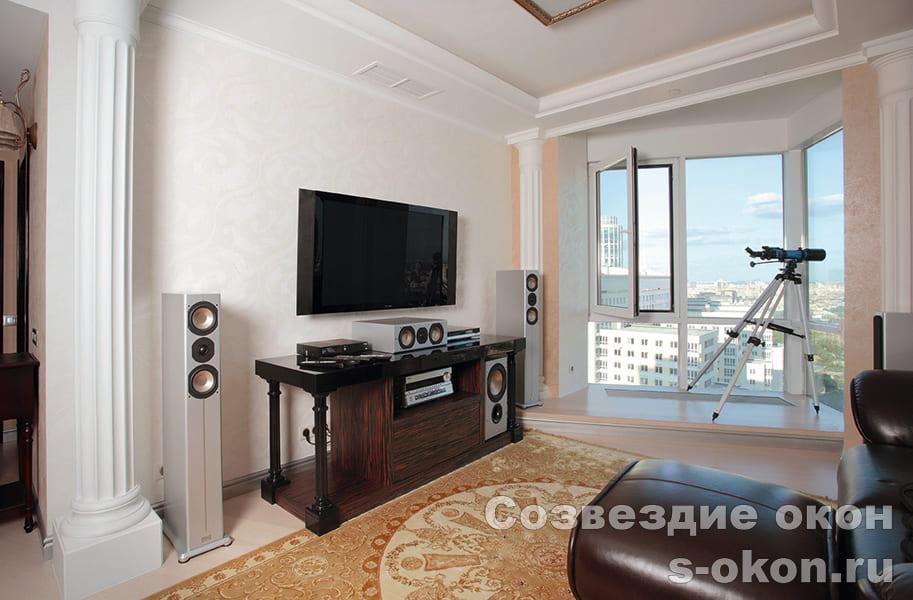 Остекления панорамные квартир