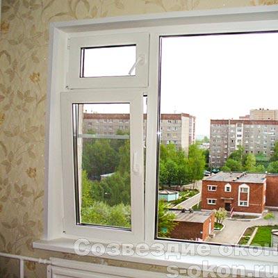 Пример остекления квартиры