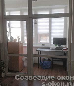 Фото раздвижных двери на балкон по низкой цене