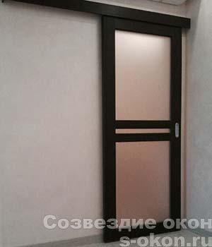Одностворчатая раздвижная дверь-купе по выгодной цене