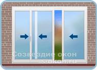 Раздвижные двери Slide