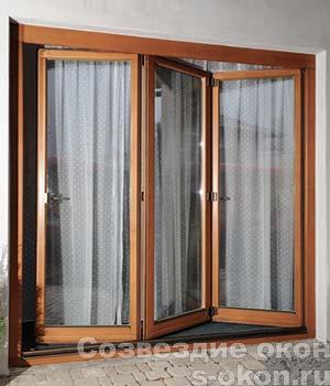 Раздвижные двери-гармошки