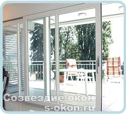 Раздвижные двери типа HST-portal в интерьере