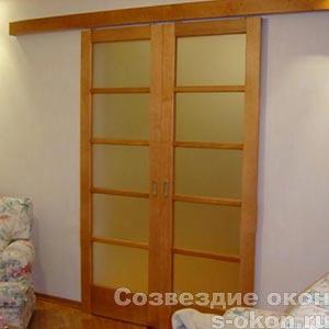 Фото раздвижных межкомнатных дверей в интерьере