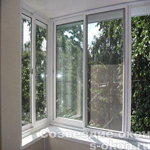 Балконные раздвижные пластиковые окна