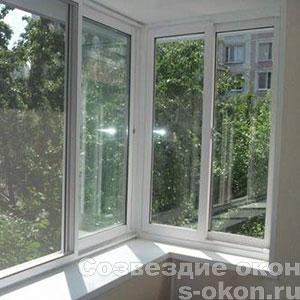 Раздвижные пластиковые окна на лоджию