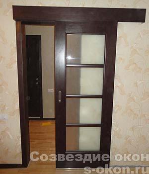Фото межкомнатных раздвижных стеклянных дверей