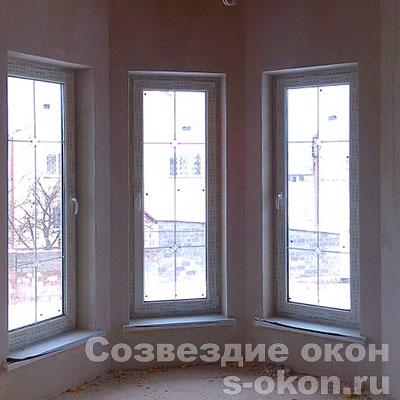 Окна из профиля Rehau Excellent