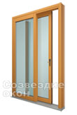 Дверь Rehau Slide