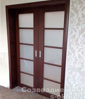 Фото межкомнатных сдвижных дверей-купе