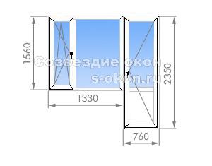 Балконный блок в II-29