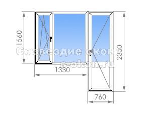 Балконный блок в II-57
