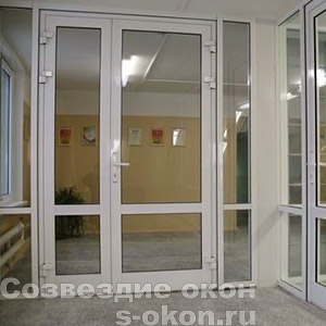 Дверь со штульпом