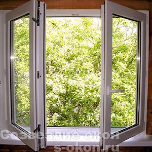 Окна со штульпом