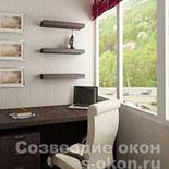 Фото лоджии совмещенной с комнатой