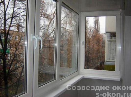 Теплые окна на балкон