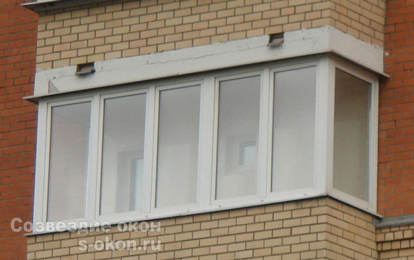 Пример теплого балкона под ключ