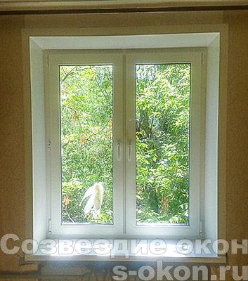 Окно с теплопакетом