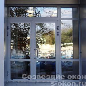 Алюминиевые двери Schuco