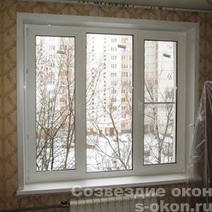 Типовые пластиковые окна