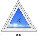 Окно треугольной формы