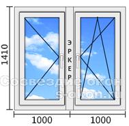 Цена углового окна