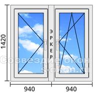 Угловые окна в дом