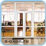 Дверные конструкции для офисов