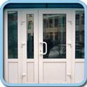 Пластиковые дверные конструкции