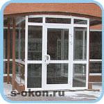 Алюминиевые двери для входной группы