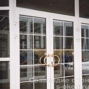 Входные алюминиевый двери