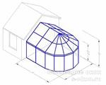 Форма зимнего сада