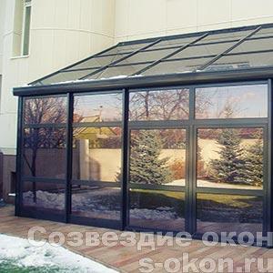 Фото зимнего сада в доме
