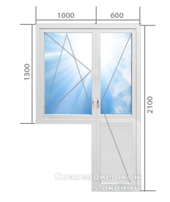 Балконный блок. Тип 4
