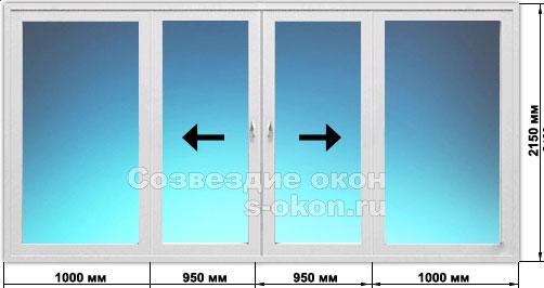Цены на раздвижные двери