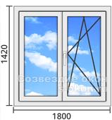 Алюминиевые окна с монтажом