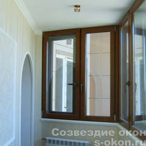 Застеклить балкон алюминиевым профилем по фото