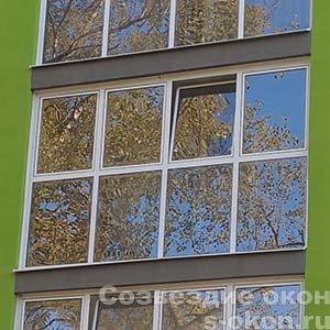 Застеклить балкон на 5 этаже
