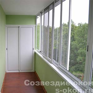 Фото балкона длиной 6 метров