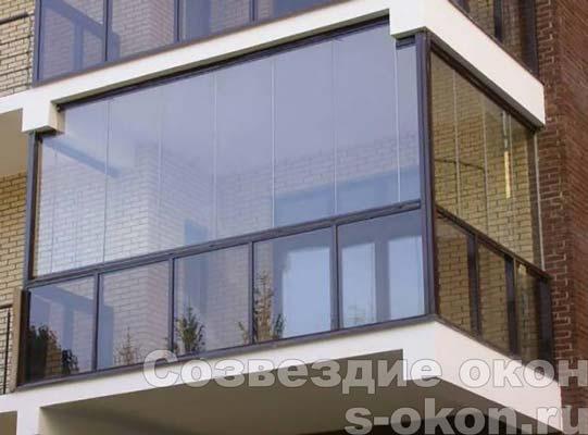 Финское остекление балконов