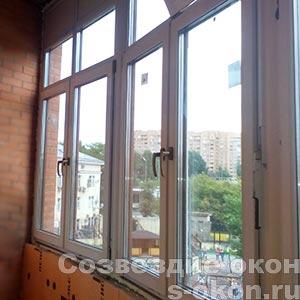Большие современные окна