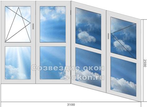 Купить большие окна